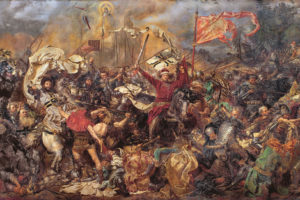 Bitwa pod Grunwaldem - J. Matejko