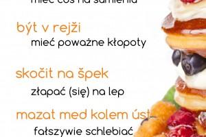 idiomy jedzenie czeski