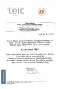 Dyplom TELC